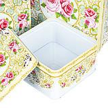 """Набор коробок """"Благоухающая роза"""" (0265J) жесть , фото 3"""