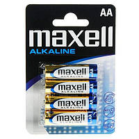 Батарейки Maxell Alkaline  AA / LR6