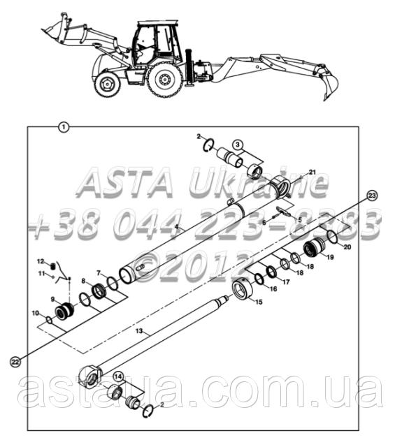 Правый стабилизатор E3-4-2