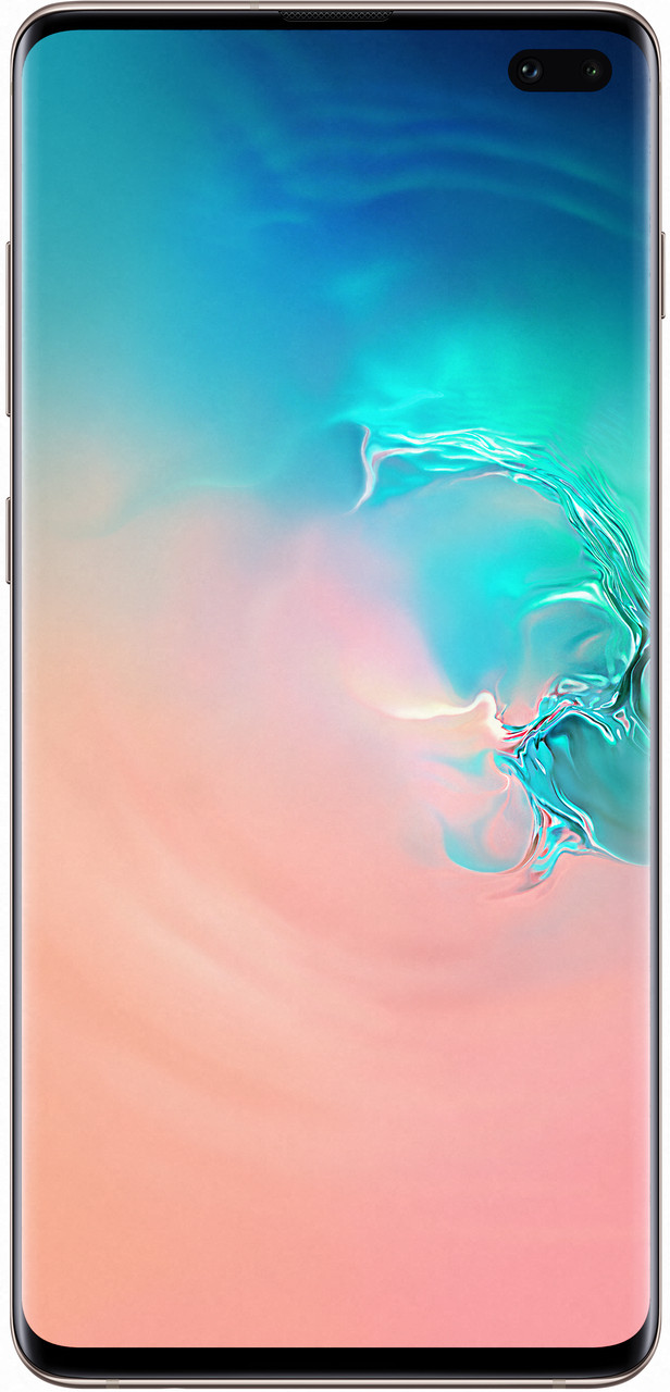 Сенсорный мобильный телефон Samsung Galaxy S10 Plus 2019 G975F 8/128Gb White
