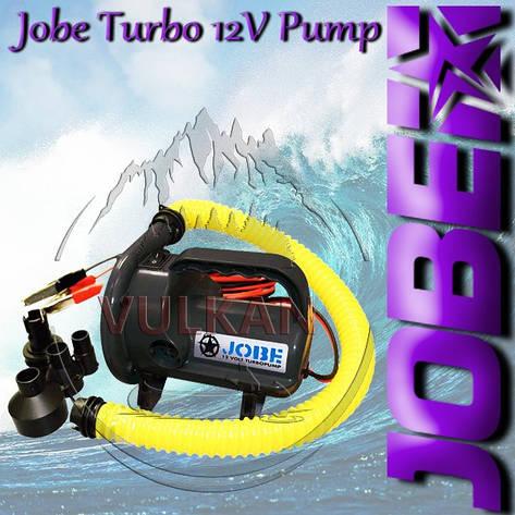 Насос для надувных аттракционов Jobe Turbo 12V Pump, фото 2
