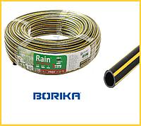 """Шланг поливочный """"Borika"""" Rain 1 дюйм (25 mm), 30 м"""