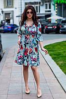 Женское платье Батал 2019 - в расцветке