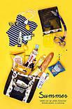 Летняя сумка для пляжа, бассейна, пикника (3 расцветки), фото 4