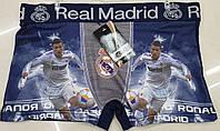 """Трусы мужские боксеры из Бамбука """"Реал Мадрид"""" 46-50"""