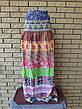 Сарафан-юбка коттоновый длинный CHURROS, фото 3