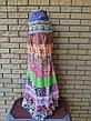 Сарафан-юбка коттоновый длинный CHURROS, фото 6