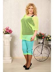 Женские блузы, туники, кофточки больших размеров