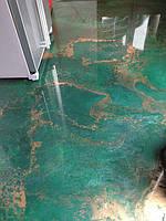 Виды декоративных покрытий наливного пола