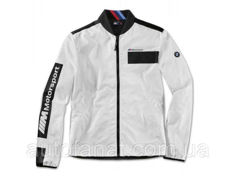 Оригинальная мужская куртка BMW M Motorsport Jacket, Colour Block Design, Men, White / Black (80142461116)