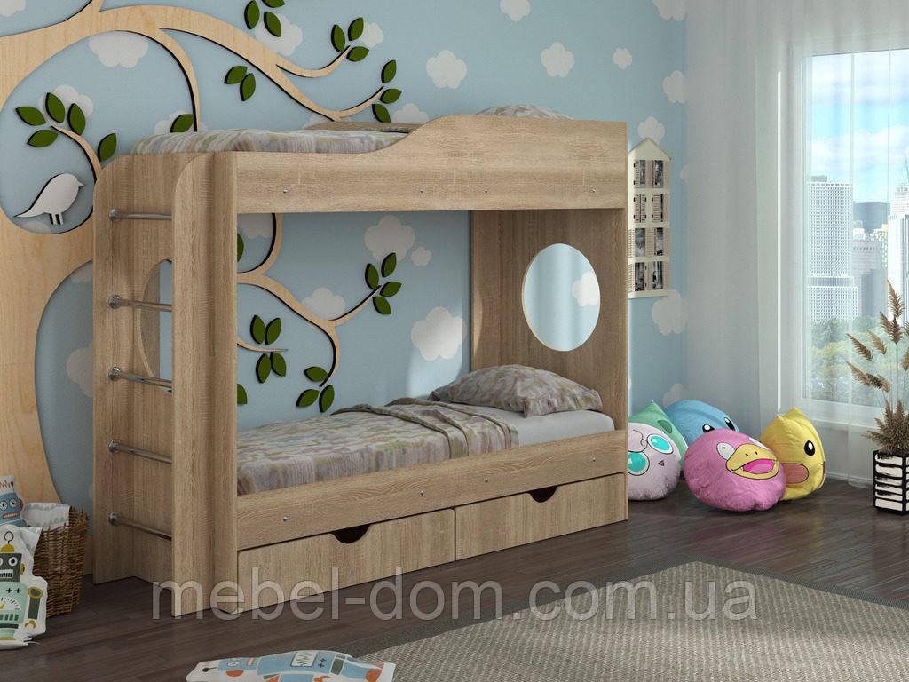 Двухъярусная кровать Тандем, для детей и подростков