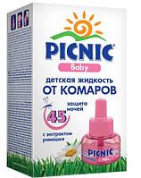 Жидкость от комаров для детей PICNIC Baby 45 ночей