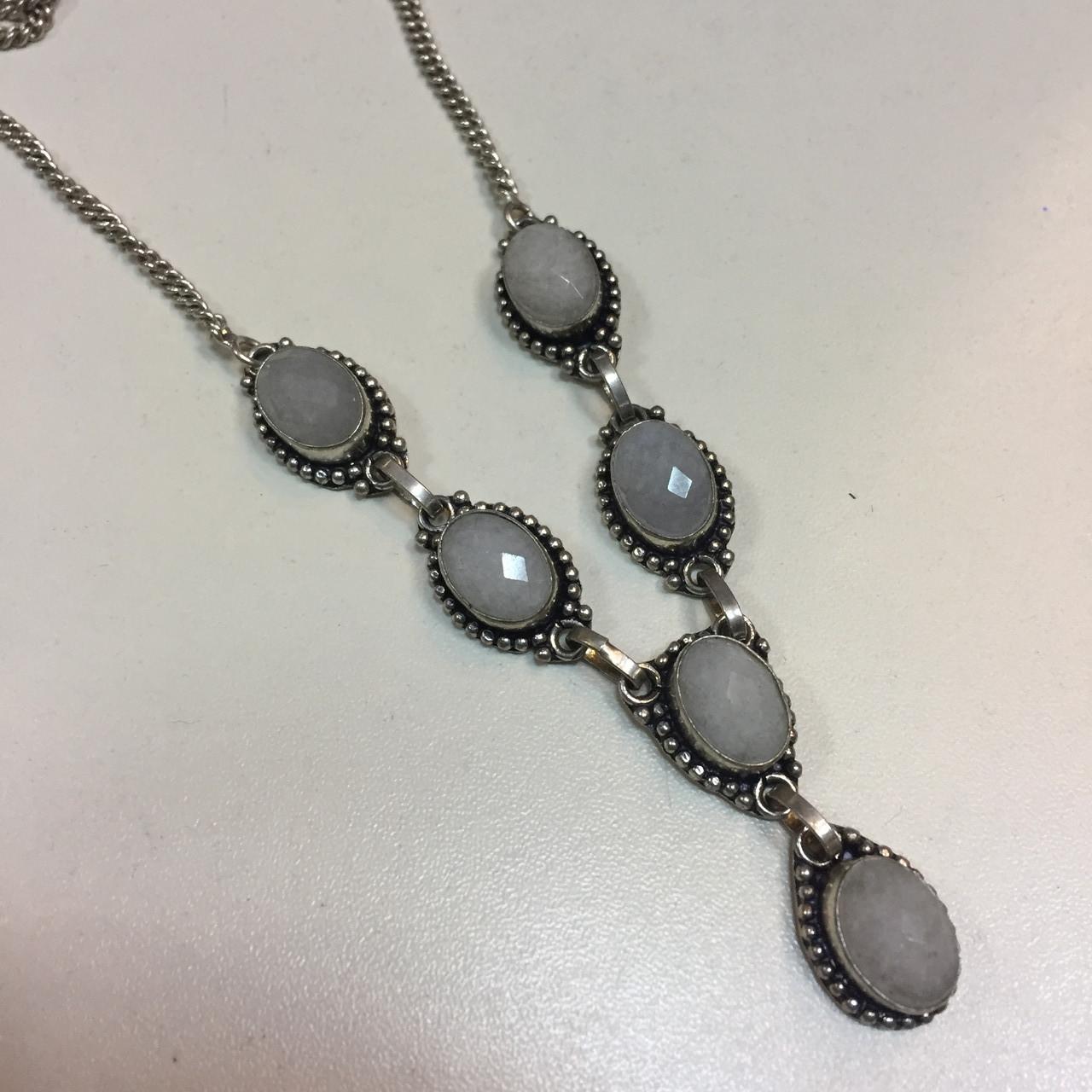 Кварц ожерелье с кварцем натуральный кварц Индия