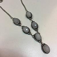 Кварц ожерелье с кварцем натуральный кварц Индия, фото 1