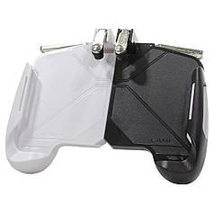 Игровой геймпад триггер Lesko AK16 Black джойстик gamepad triggers для смартфона мобильных игр