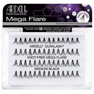Мега-обьемные пучковые накладные ресницы Ardell™ Mega Flare Individual Lashes - Medium 12 мм