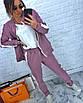 Женский спортивный костюм из хлопка (бомбер и штаны), фото 2