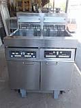 Фритюр Frymaster H 17 б\у напольный, 2 слота, профессиональный фритюр б у, фото 4