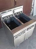 Фритюр Frymaster H 17 б\у напольный, 2 слота, профессиональный фритюр б у, фото 2
