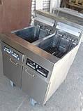 Фритюр Frymaster H 17 б\у напольный, 2 слота, профессиональный фритюр б у, фото 6