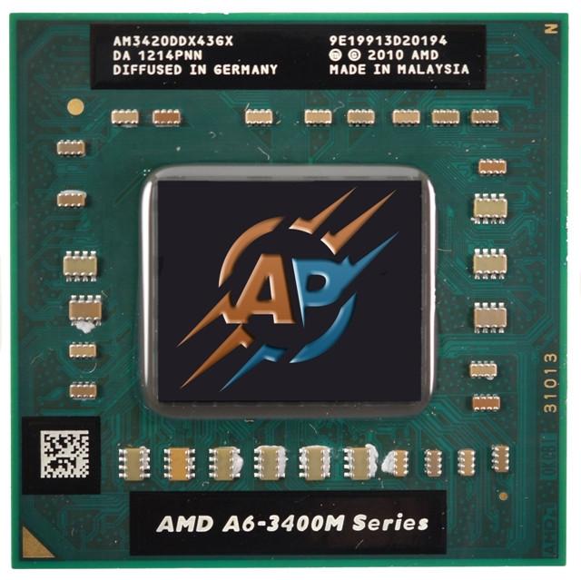 AMD A6-3420M 1.5 - 2.4GHz