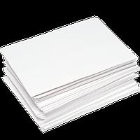 Упаковочная бумага белая целюлозная силиконизированная жиростойкая 425*600мм 40г/м² 500шт (1759)