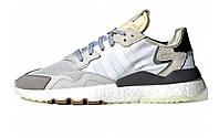 Кроссовки Adidas Nite Jogger цвет серо-белый