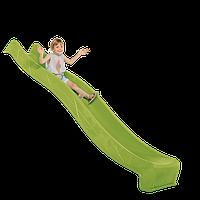 Пластиковая детская горка 3 метра. Цвет салатовый (Бельгия) KBT