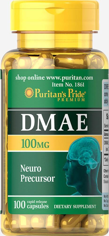 DMAE 100 mg100 Capsules