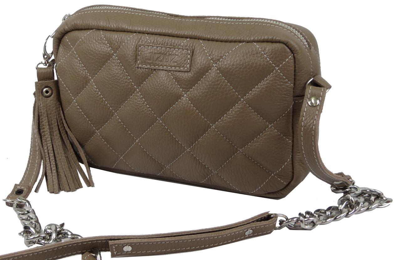 c0391c7c940a Кожаная сумка-клатч JIZUZ CLUTCH BEIGE, CL2514BE бежевая — только ...