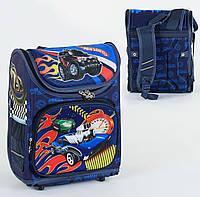 Рюкзак школьный ортопедический С 36172, твердый каркас, 3D принт