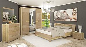 """Спальня """"Флоренс"""" від Мебель Сервіс (секвоя, капучіно)"""