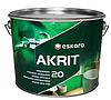 Eskaro Akrit 20 Особо прочная краска моющаяся для стен (полуматовая)