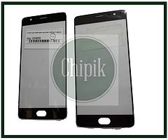 Скло для переклеювання дисплея OnePlus 3 Чорне
