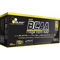 Аминокислоты OLIMP BCAA Mega Caps 1100 blister (120 caps)