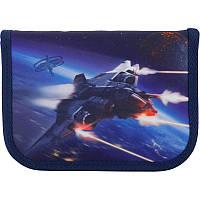 Пенал без наполнение Kite Education Space trip K19-622-6, 1 відділення, 2 відвороти, фото 1