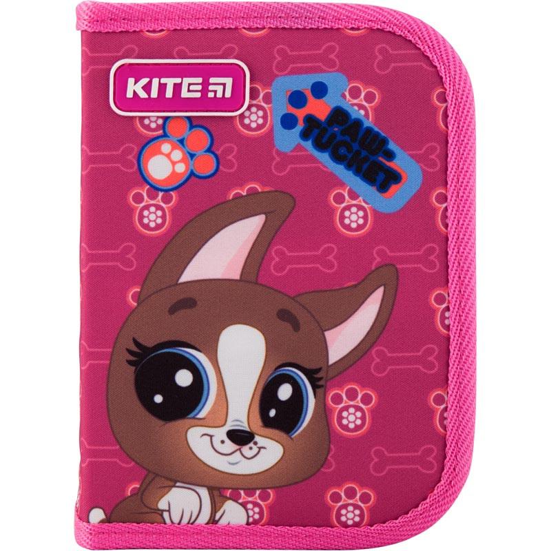 Пенал без наповнення Kite Education Littlest Pet Shop PS19-621, 1 відділення, 1 відворот