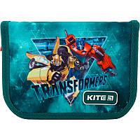 Пенал без наповнення Kite Education Transformers TF19-622-1, 1 відділення, 2 відвороти, фото 1