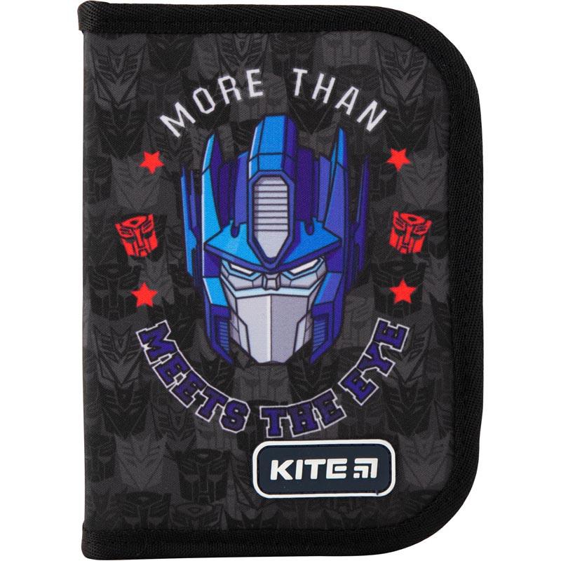 Пенал без наповнення Kite Education Transformers TF19-621-2, 1 відділення, 1 відворот