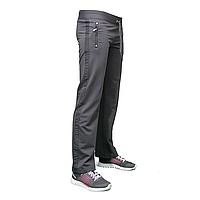 Трикотажные женские брюки модного покроя пр-во Турция AM14654