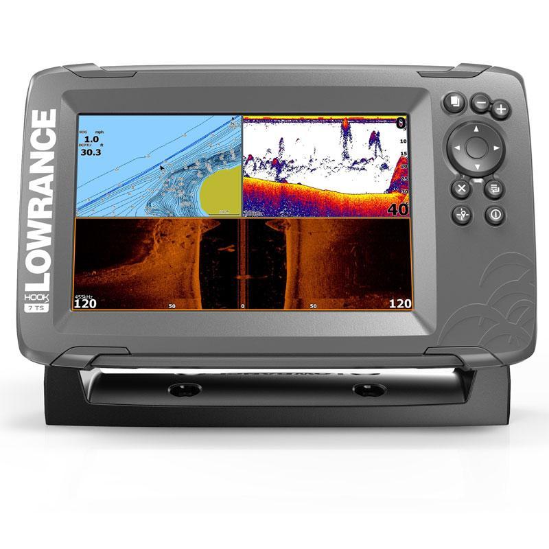 Ехолот Картплотер Lowrance Hook2-7 TripleShot + карта Navionics Platinum