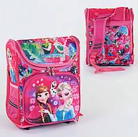 Рюкзак школьный ортопедический С 36177, твердый каркас, 3D принт