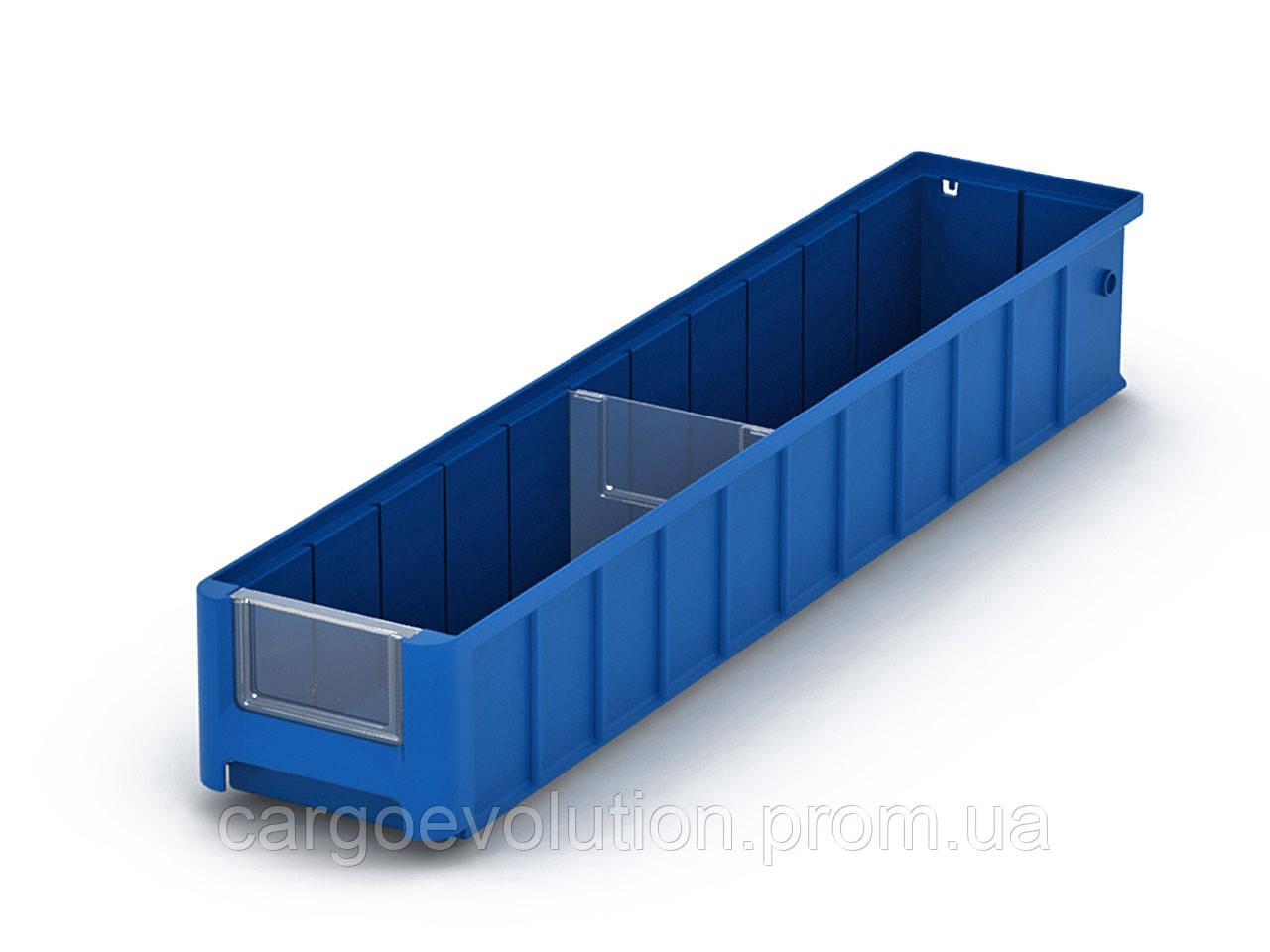 Полочный пластиковый контейнер SK 600x117x90