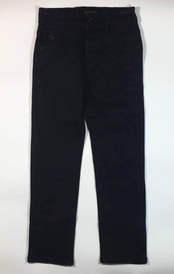 Черные джинсы для мальчика RESSER (р.12,13 лет)