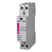 Контактор 20A ETI R 20-20