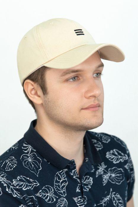 Мужская кепка «Арден»,молочного цвета