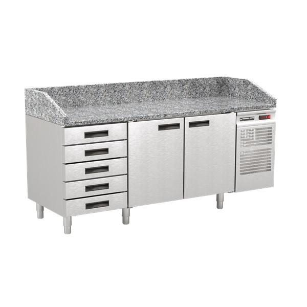 Стіл холодильний для піци Modern-Expo NRA CAS