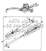 Операционная система ковша обратная лопата, с защитным клапаном Е3-7-1-ОП
