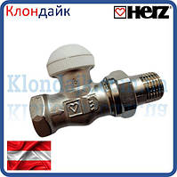 HERZ Термостатический клапан HERZ-TS-E прямой  3/4