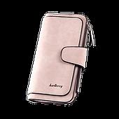 Женское портмоне Baellerry Forever Пудровый розовый
